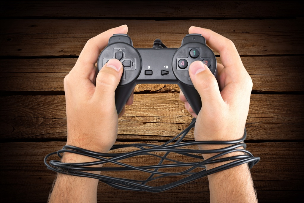 Gaming addict.